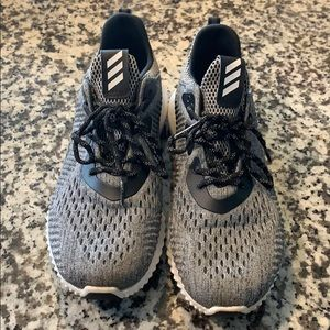 Grey Adidas Alphabounce Sneakers